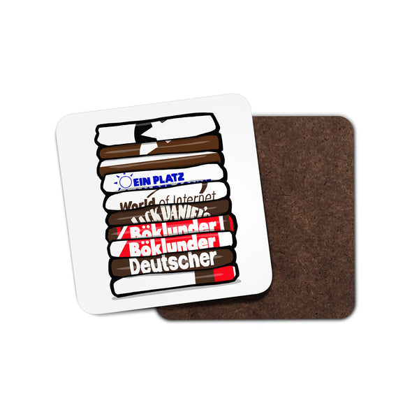 St Pauli Shirt Stack Coaster