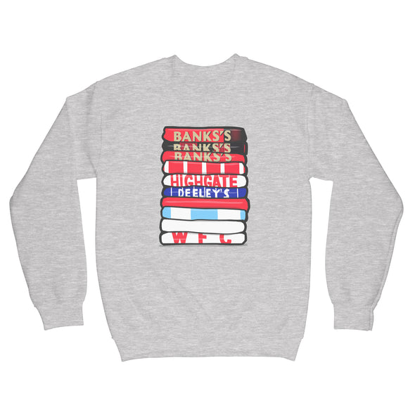Walsall Shirt Stack Sweatshirt