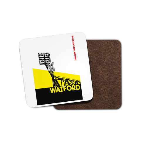 Watford Floodlights Coaster