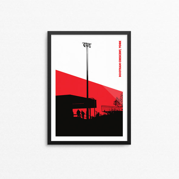 York Floodlights Print