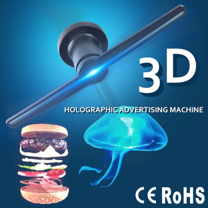 3D Holographic Display Fan