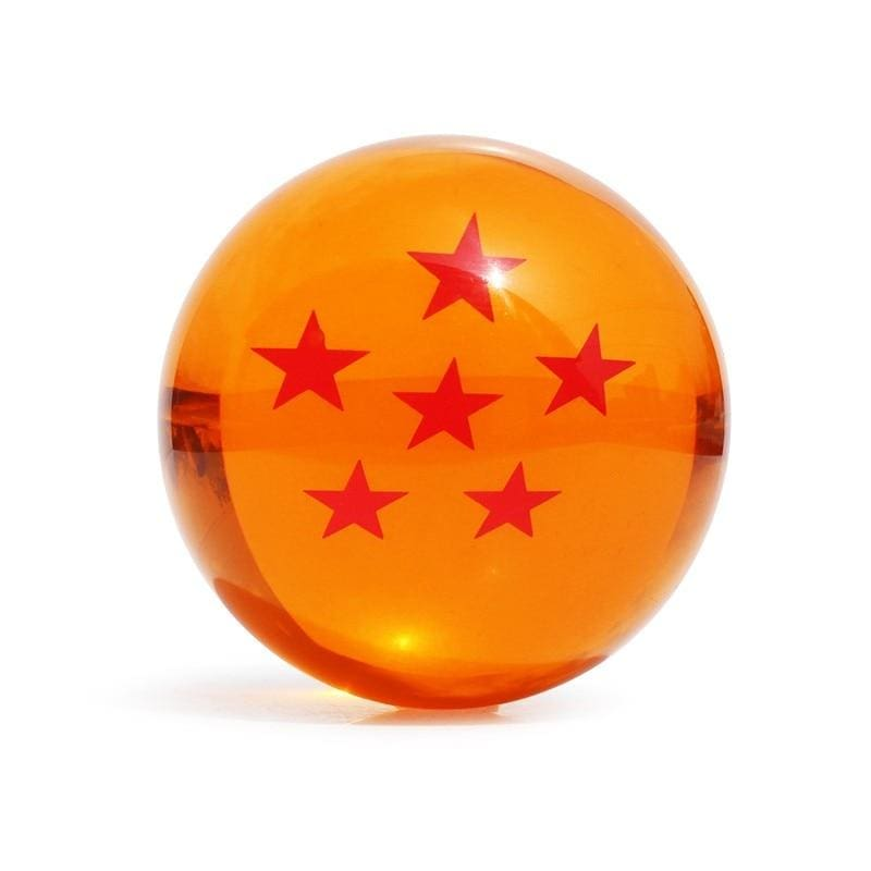 7.5cm Big Size Dragon Ball Super Z Orange Crystal Ball 1 to 7 Stars