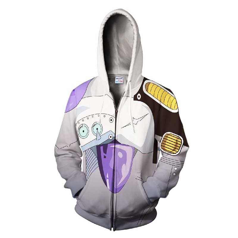 DBZ Dragon Ball Frieza 3D Sweatshirt Hoodies