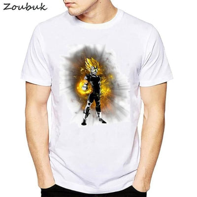 Dbz Dragon Ball Super Saiyan Goku Vegeta Capsule T-Shirt - 50312 / S