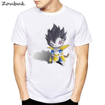 Dbz Dragon Ball Super Saiyan Goku Vegeta Capsule T-Shirt - 50314 / S