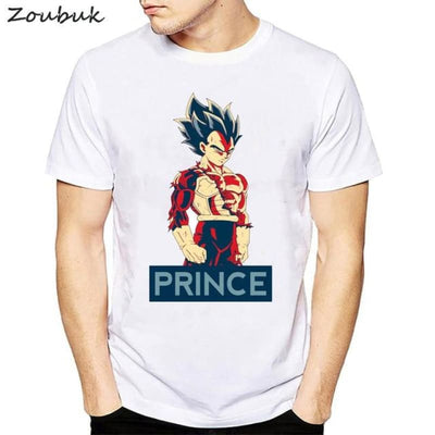 Dbz Dragon Ball Super Saiyan Goku Vegeta Capsule T-Shirt - 50315 / S