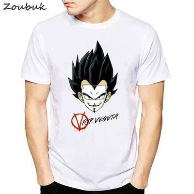 Dbz Dragon Ball Super Saiyan Goku Vegeta Capsule T-Shirt - 50318 / S