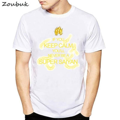 Dbz Dragon Ball Super Saiyan Goku Vegeta Capsule T-Shirt - 50319 / S