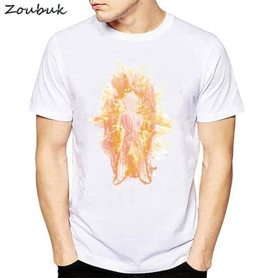 Dbz Dragon Ball Super Saiyan Goku Vegeta Capsule T-Shirt - 50320 / S