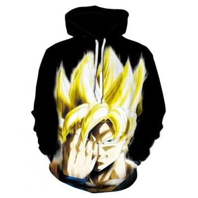 Dbz Dragon Ball Z Goku Transformation Fighting Hoodies - Picture Color10 / Xs