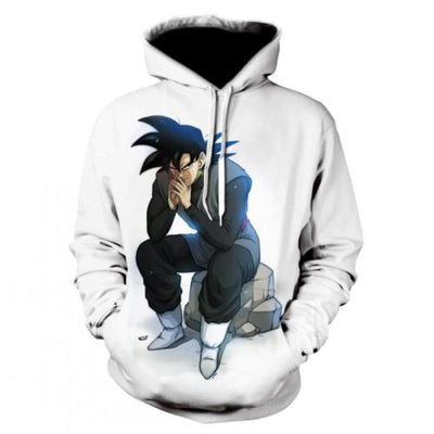 Dbz Dragon Ball Z Goku Transformation Fighting Hoodies - Picture Color12 / Xs