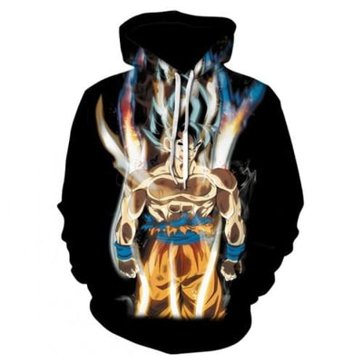 Dbz Dragon Ball Z Goku Transformation Fighting Hoodies - Picture Color21 / Xs