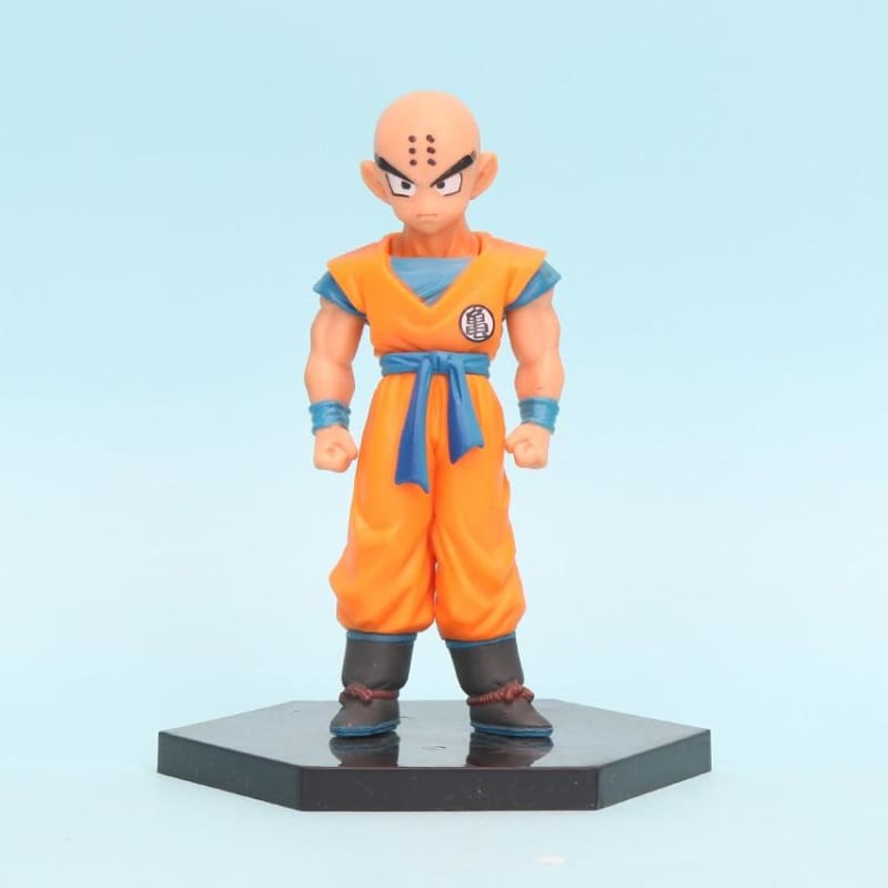 DBZ Super Krillin Kulilin Pernicious Ready To Fight PVC Figure Toy 11cm
