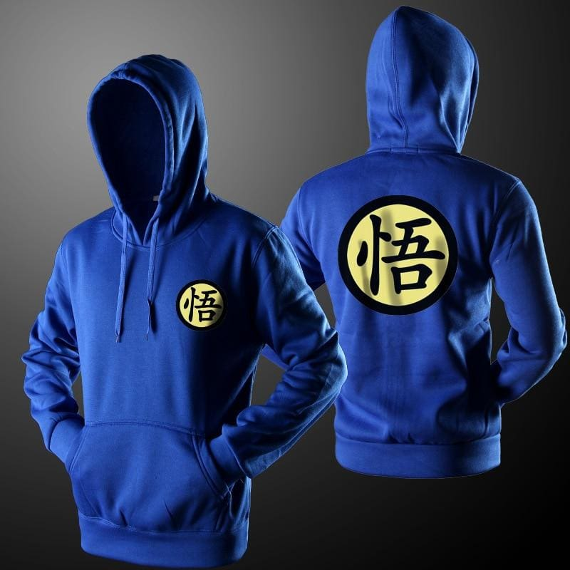 Dragon Ball Goku Hoodie Men Black Cosplay Sweatshirt Costume Hoodies Jackets
