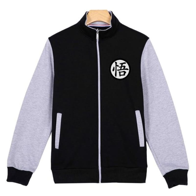 Dragon Ball Goku Hoodie Men Black Jacket