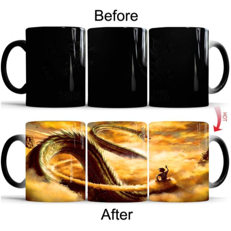 Dragon Ball Shenron Magic Mug