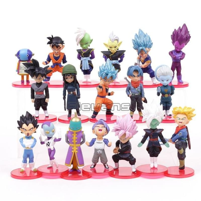 Dragon Ball Super Toys Son Goku/Gohan/Zen O/Jaco/Trunks/Mai/Zamasu/Grand Priest/Vegeta Action Figure