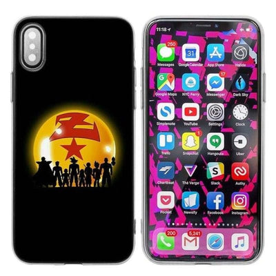 Dragon Ball Z Goku Iphone Xs X Max Xr 7 8 6 6S Plus 5 5S Se 5C - 013 / Iphone Xr