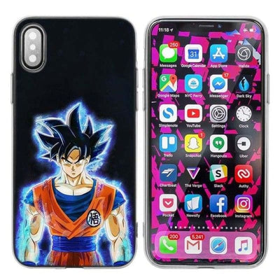 Dragon Ball Z Goku Iphone Xs X Max Xr 7 8 6 6S Plus 5 5S Se 5C - 015 / Iphone Xr