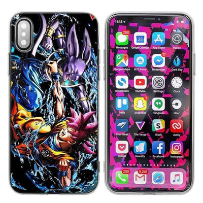 Dragon Ball Z Goku Iphone Xs X Max Xr 7 8 6 6S Plus 5 5S Se 5C