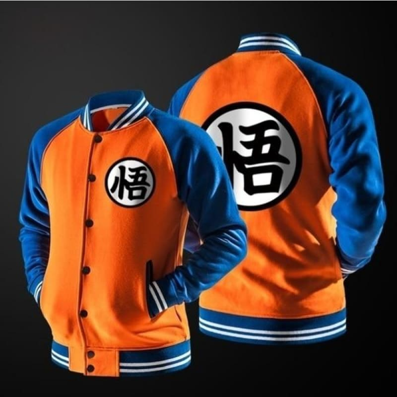 Dragon Ball Z Goku Long Sleeve Fashion Cool Hoodies Xs-4Xl