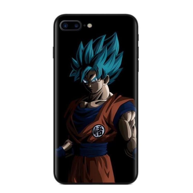 Dragon Ball Z Goku Phone Case For iPhone X 8 8Plus 7 6 6s Plus 5 5S SE