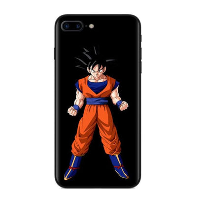 Dragon Ball Z Goku Phone Case For Iphone X 8 8Plus 7 6 6S Plus 5 5S Se - T2884 / For Iphone 5 5S Se