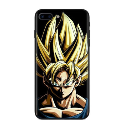 Dragon Ball Z Goku Phone Case For Iphone X 8 8Plus 7 6 6S Plus 5 5S Se - T2885 / For Iphone 5 5S Se