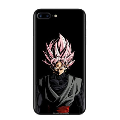 Dragon Ball Z Goku Phone Case For Iphone X 8 8Plus 7 6 6S Plus 5 5S Se - T2889 / For Iphone 5 5S Se
