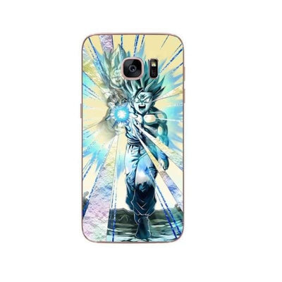 Dragon Ball Z Goku Samsung S6 S7 Edge S8 Pluss9 S9 Plus Note 8 - Beige / For Samsung S6