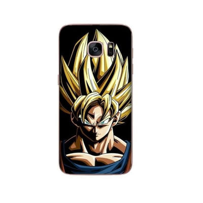 Dragon Ball Z Goku Samsung S6 S7 Edge S8 Pluss9 S9 Plus Note 8 - Clear / For Samsung S6