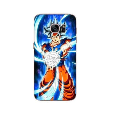 Dragon Ball Z Goku Samsung S6 S7 Edge S8 Pluss9 S9 Plus Note 8 - Ivory / For Samsung S6