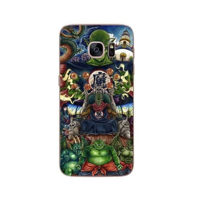 Dragon Ball Z Goku Samsung S6 S7 Edge S8 Pluss9 S9 Plus Note 8 - Sky Blue / For Samsung S6