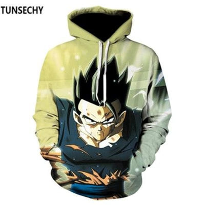 Dragon Ball Z Hooded Sweatshirts Goku 3D Hoodies Men Women - Picture Color14 / S