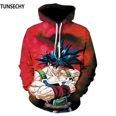 Dragon Ball Z Hooded Sweatshirts Goku 3D Hoodies Men Women - Picture Color18 / S