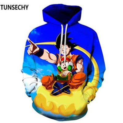 Dragon Ball Z Hooded Sweatshirts Goku 3D Hoodies Men Women - Picture Color20 / S