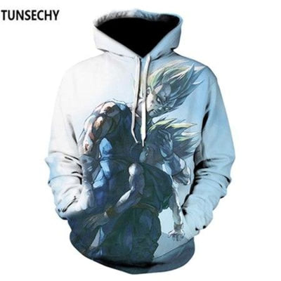 Dragon Ball Z Hooded Sweatshirts Goku 3D Hoodies Men Women - Picture Color22 / S