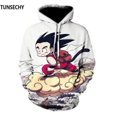 Dragon Ball Z Hooded Sweatshirts Goku 3D Hoodies Men Women - Picture Color4 / S