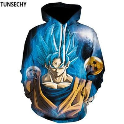 Dragon Ball Z Hooded Sweatshirts Goku 3D Hoodies Men Women - Picture Color5 / S
