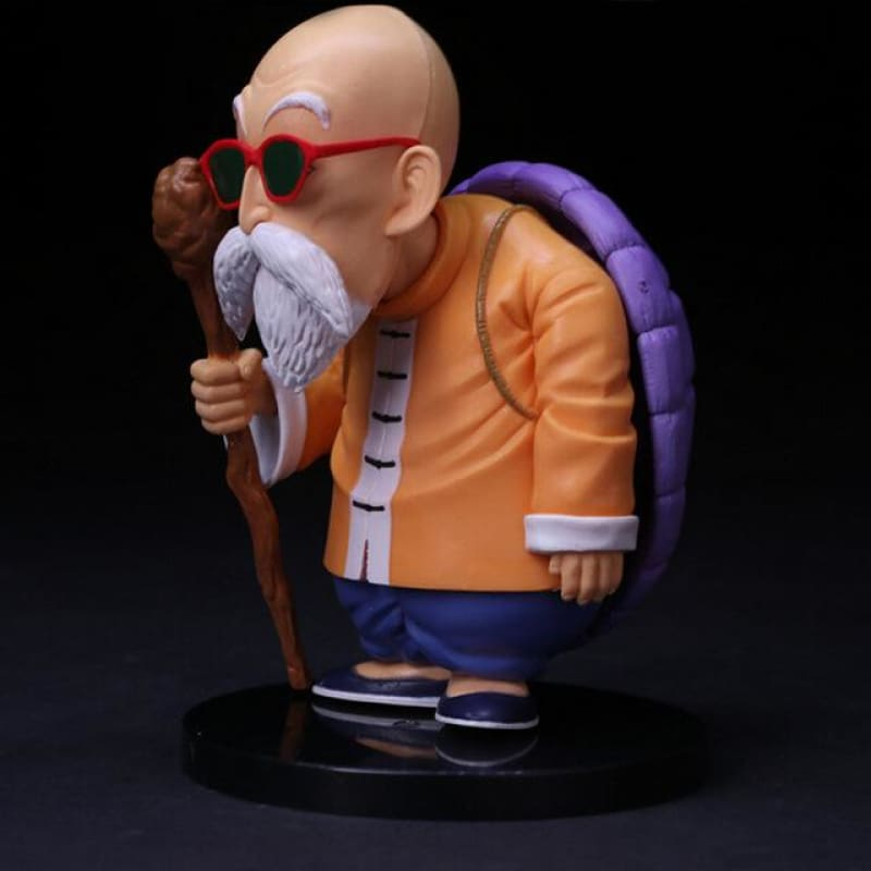 Dragon Ball Z Master Roshi Turtle Oolong Pig Action Figures