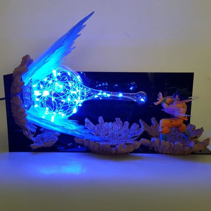 Dragon Ball Z Son Goku Kamehameha Lamp Led  for Christmas