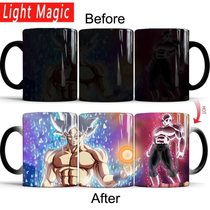 Dragon Ball Z Super Saiyan Goku Vs Jiren Coffee Magic Mug