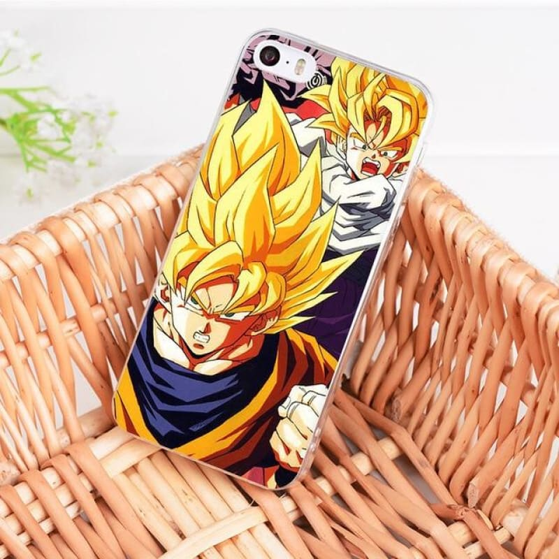 DragonBall Z Goku Coque iPhone 8 7 6 6S Plus X 5 5S XS XR