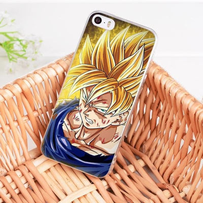 Dragonball Z Goku Coque Iphone 8 7 6 6S Plus X 5 5S Xs Xr - 2 / For Iphone 8