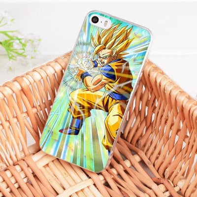 Dragonball Z Goku Coque Iphone 8 7 6 6S Plus X 5 5S Xs Xr - 4 / For Iphone 8