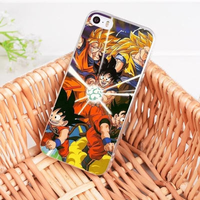 Dragonball Z Goku Coque Iphone 8 7 6 6S Plus X 5 5S Xs Xr - 9 / For Iphone 8