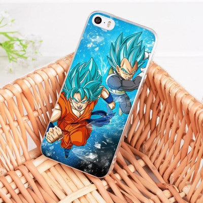 Dragonball Z Goku Coque Iphone 8 7 6 6S Plus X 5 5S Xs Xr - 7 / For Iphone 8