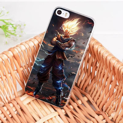 Dragonball Z Goku Coque Iphone 8 7 6 6S Plus X 5 5S Xs Xr - 8 / For Iphone 8
