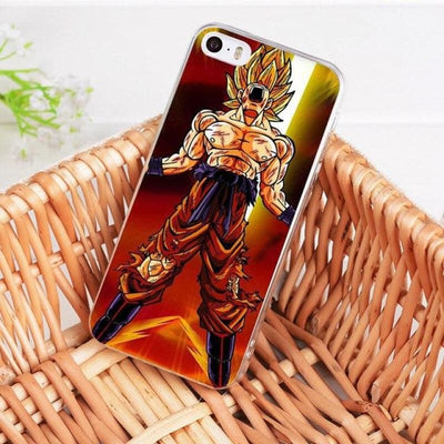 Dragonball Z Goku Coque Iphone 8 7 6 6S Plus X 5 5S Xs Xr - 6 / For Iphone 8