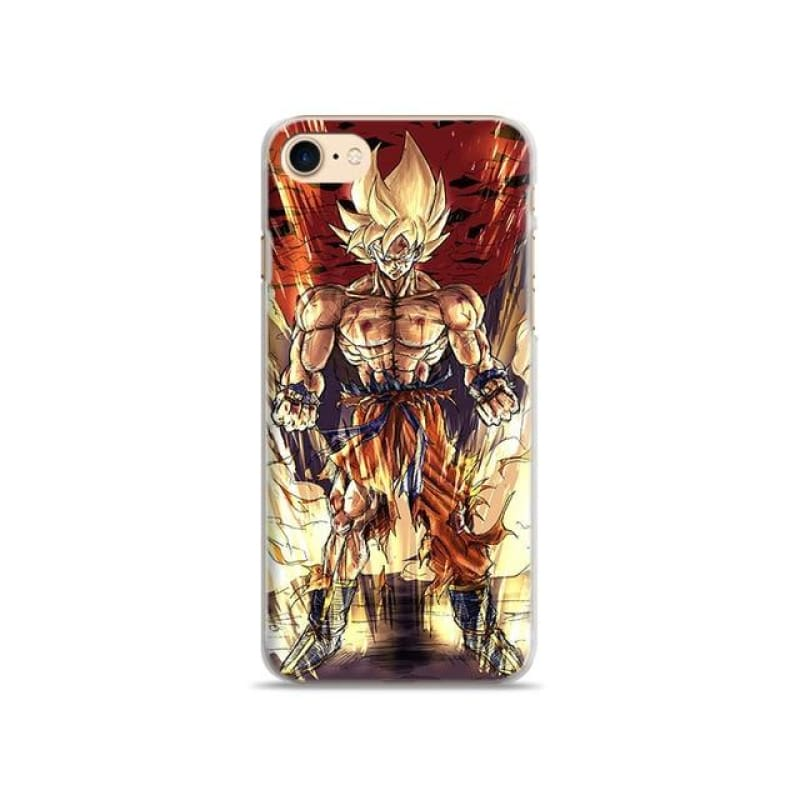Goku DBZ Dragon   iPhone 5 5s Se 6 6s 7 8 Plus X XR XS MAX